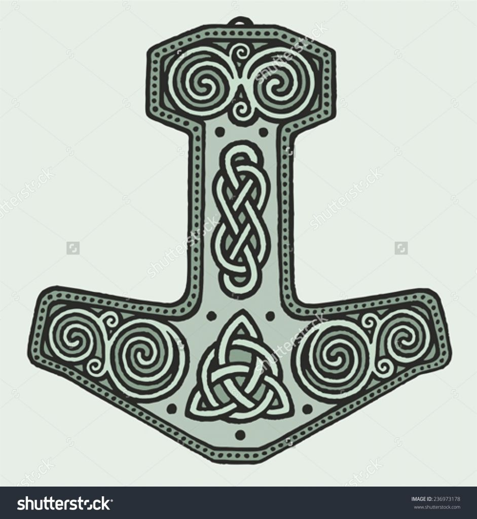 viking tattoos hammer of thor viking magic warrior norse tattoo