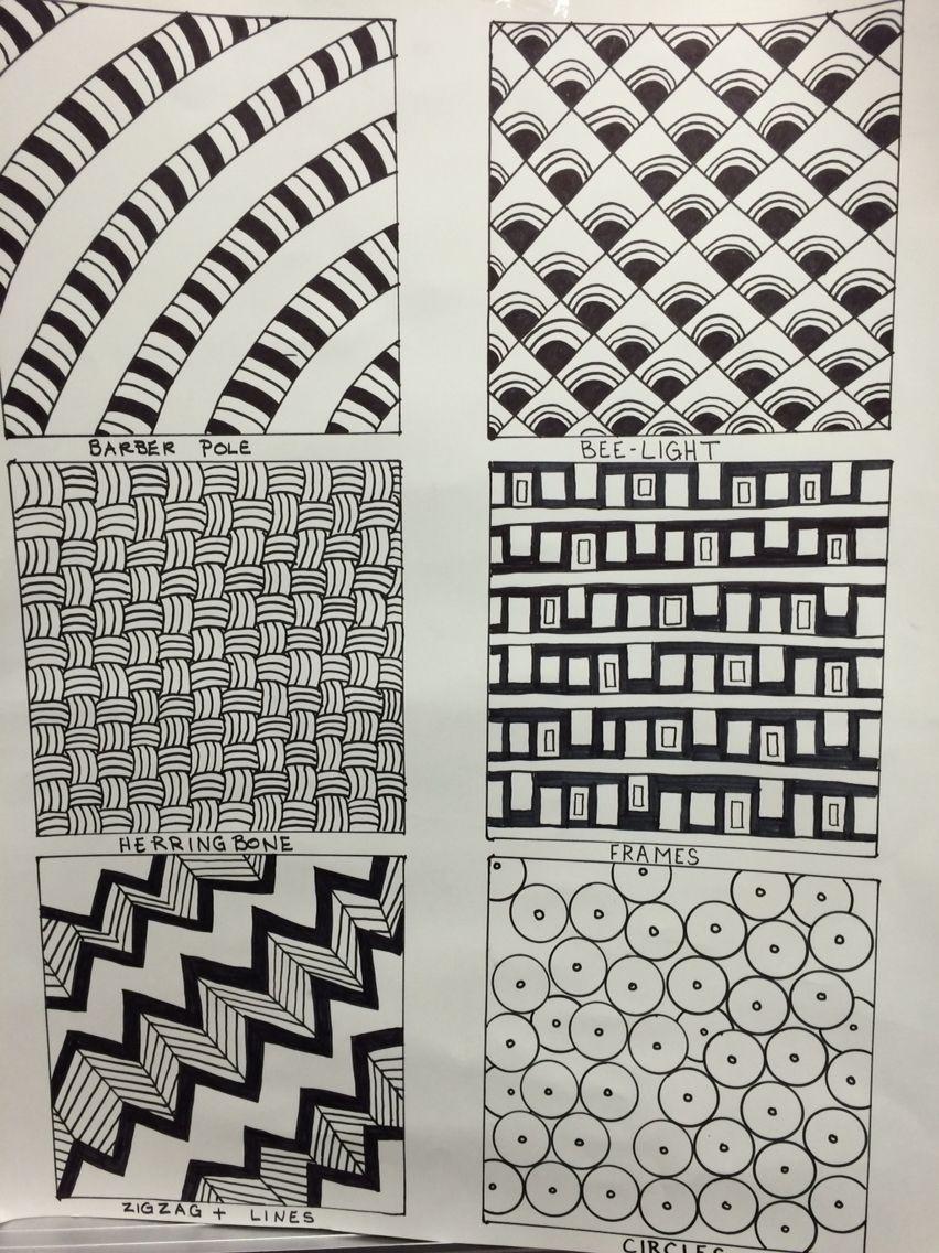 Zentangle Pattern Ideas Simple Design Ideas