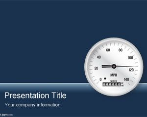 business gauge powerpoint template is a free powerpoint template, Powerpoint templates