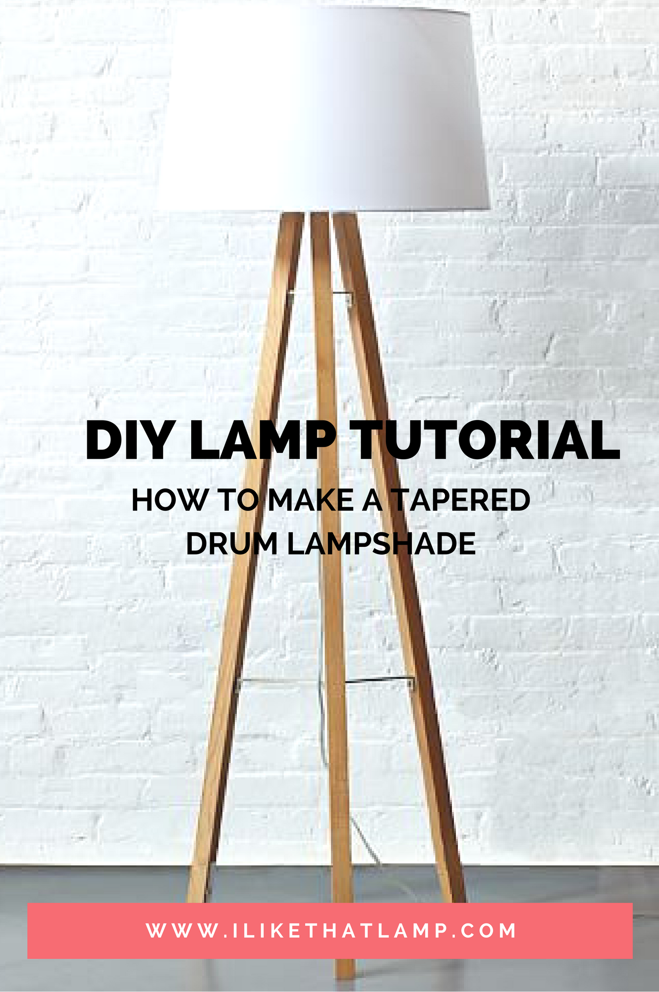 How To Make A Diy Tapered Drum Lampshade For A Table Floor Tripod Ceiling Light Full Tutori Lustres Artesanais Luminarias Feitas Em Casa Luminaria De Piso