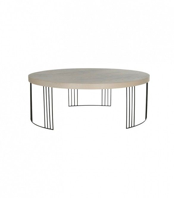 French Stamped Mango Coffee Table