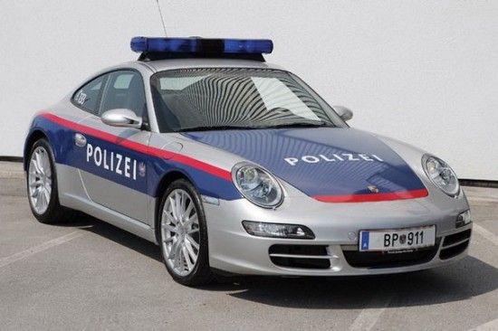 Carros Policiais mais Bonitos do Mundo 4