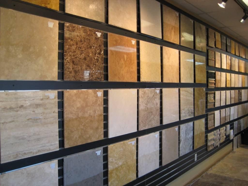 Different Ceramic Type Of Tiles Tile Showroom Showroom Design Brick Tiles