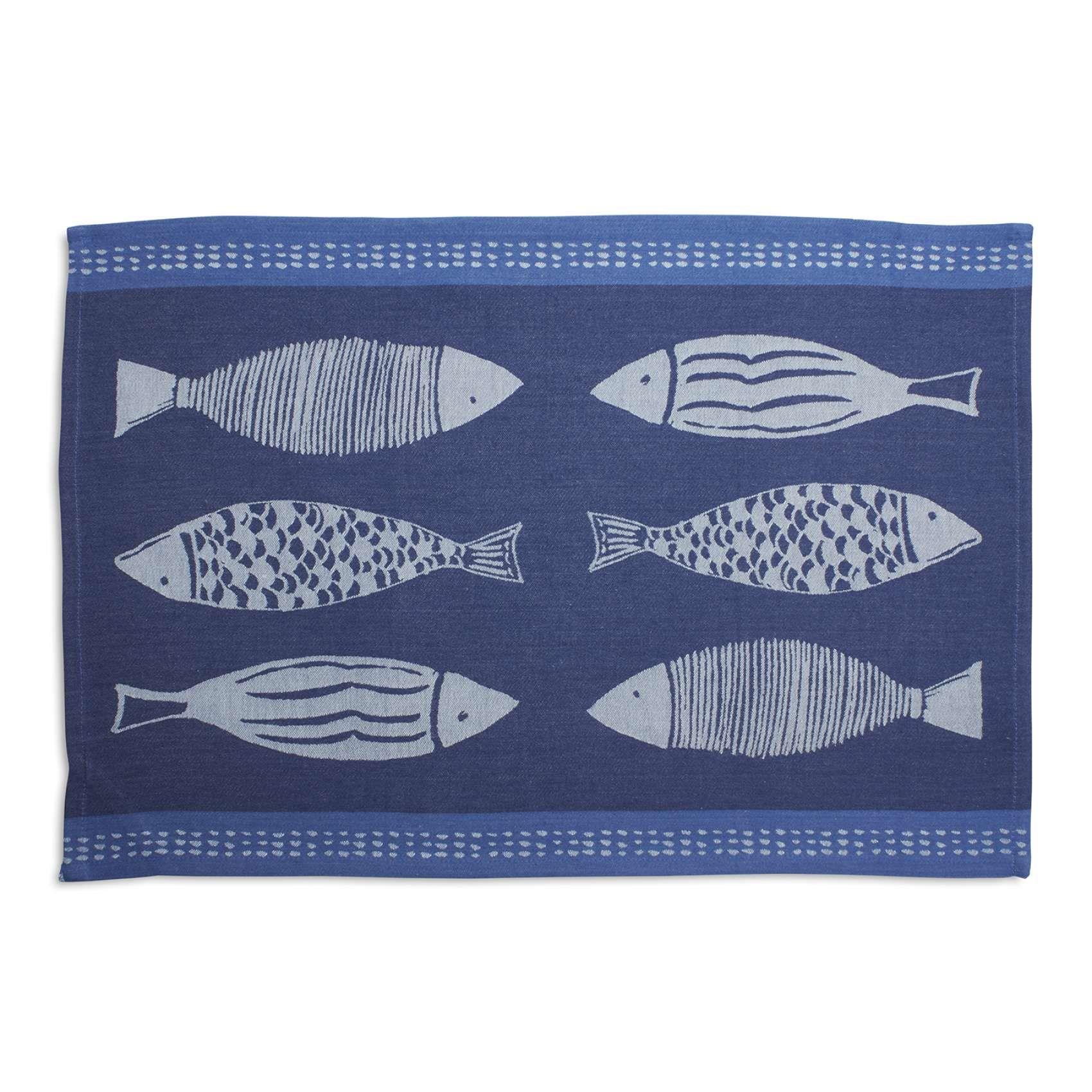 Jacquard Fish Kitchen Towel 28 X 18 Sur La Table Kitchen Towels Towel Sur La Table