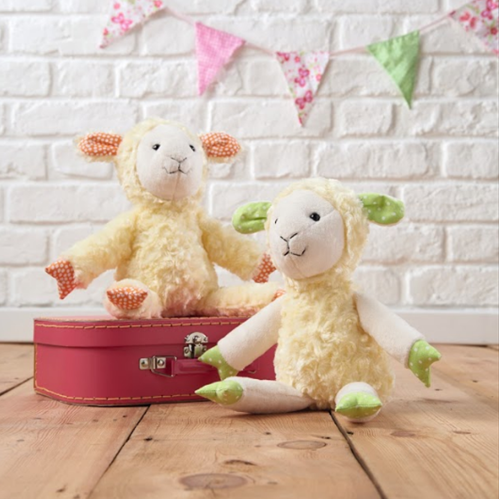 Lamb Softies - free pattern | Sewing | Pinterest