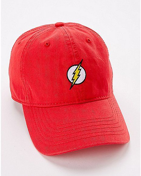2a4e07b6 The Flash Dad Hat - DC Comics - Spencer's | Hats in 2019 | Dad hats ...