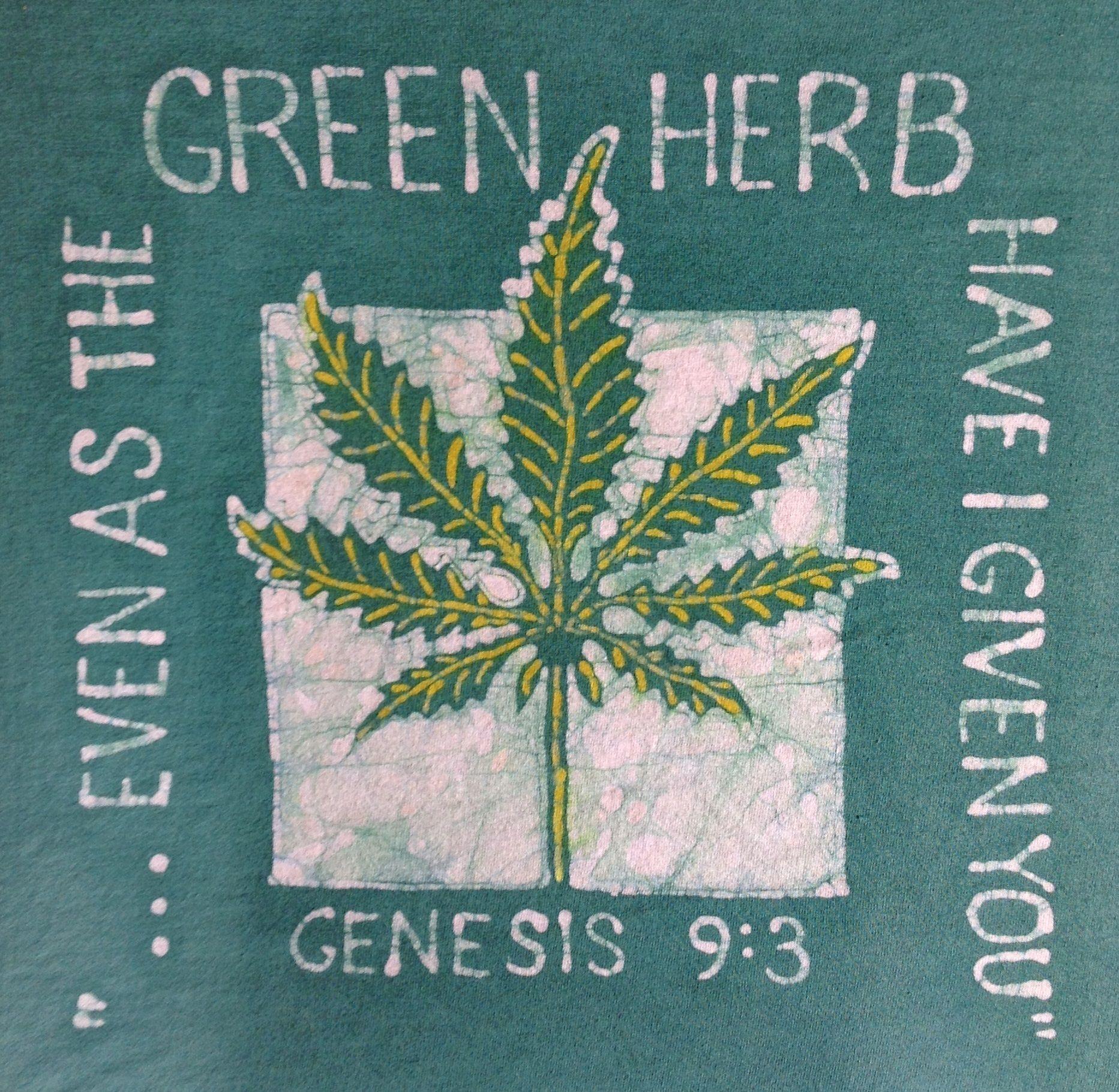 The Green Herb Batik Tshirt | Say What? | Pinterest