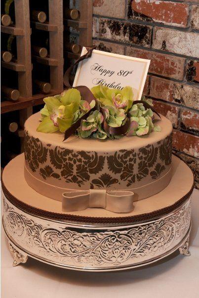 Happy Birthday Chocolate Cake - Grandma Edi's 80th   Happy ...