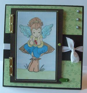 Night Owl Designs: Gift Pocket Card with mini hinges