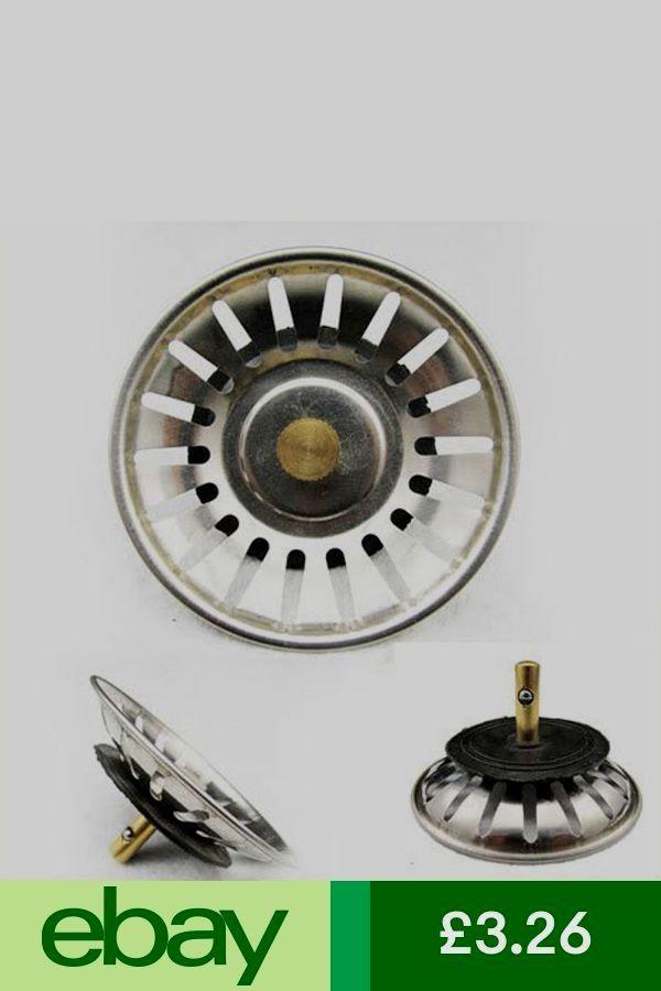 2X78mm Premium Kitchen Sink Replacement Drain Waste Plug