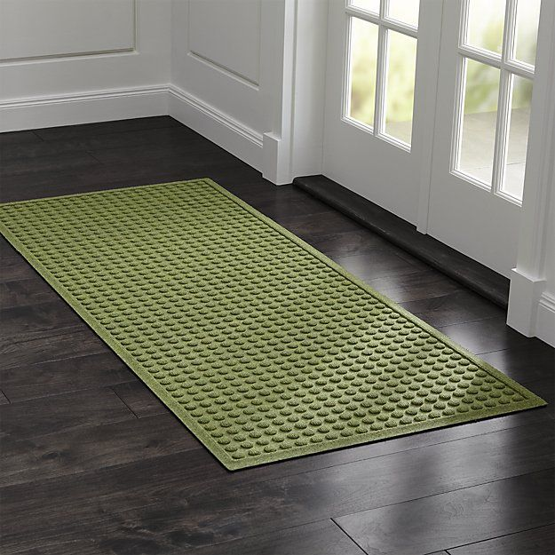 This Absorbent Thirsty Mat With A Fun Carved Dot Design Lives Up