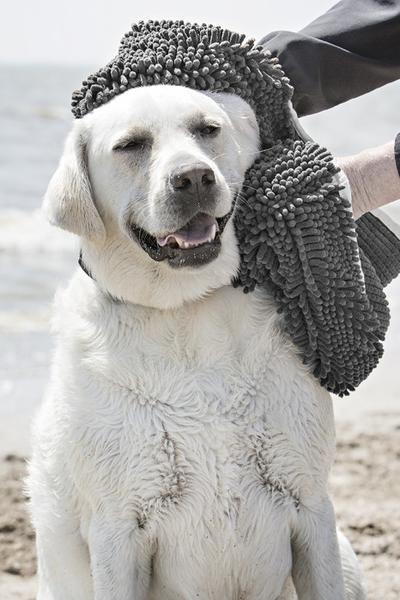 Soggy Doggy Super Shammy Grey Dog grooming tools, Dog
