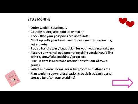 The Easiest Simplest Hiest Way To Plan Your Wedding Planning Own How