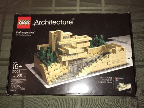 Lego Architecture 21005 Fallingwater With Box And Instructions