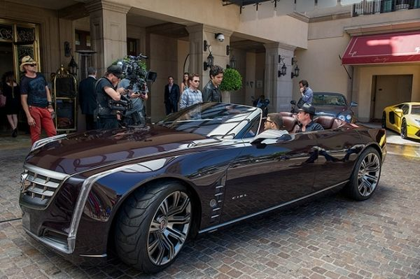 Gm S Cadillac Ciel Makes Debut In Entourage Movie Brown Eye