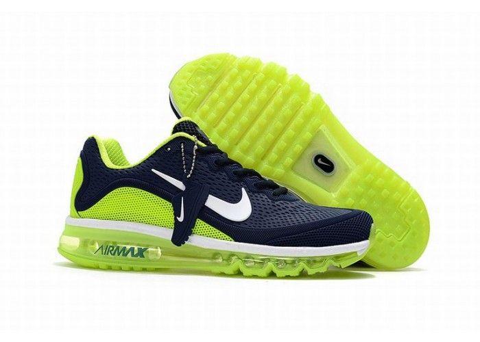 Herren Max Nike Blau 2017 Grün schuh Air Licht thQrdsC