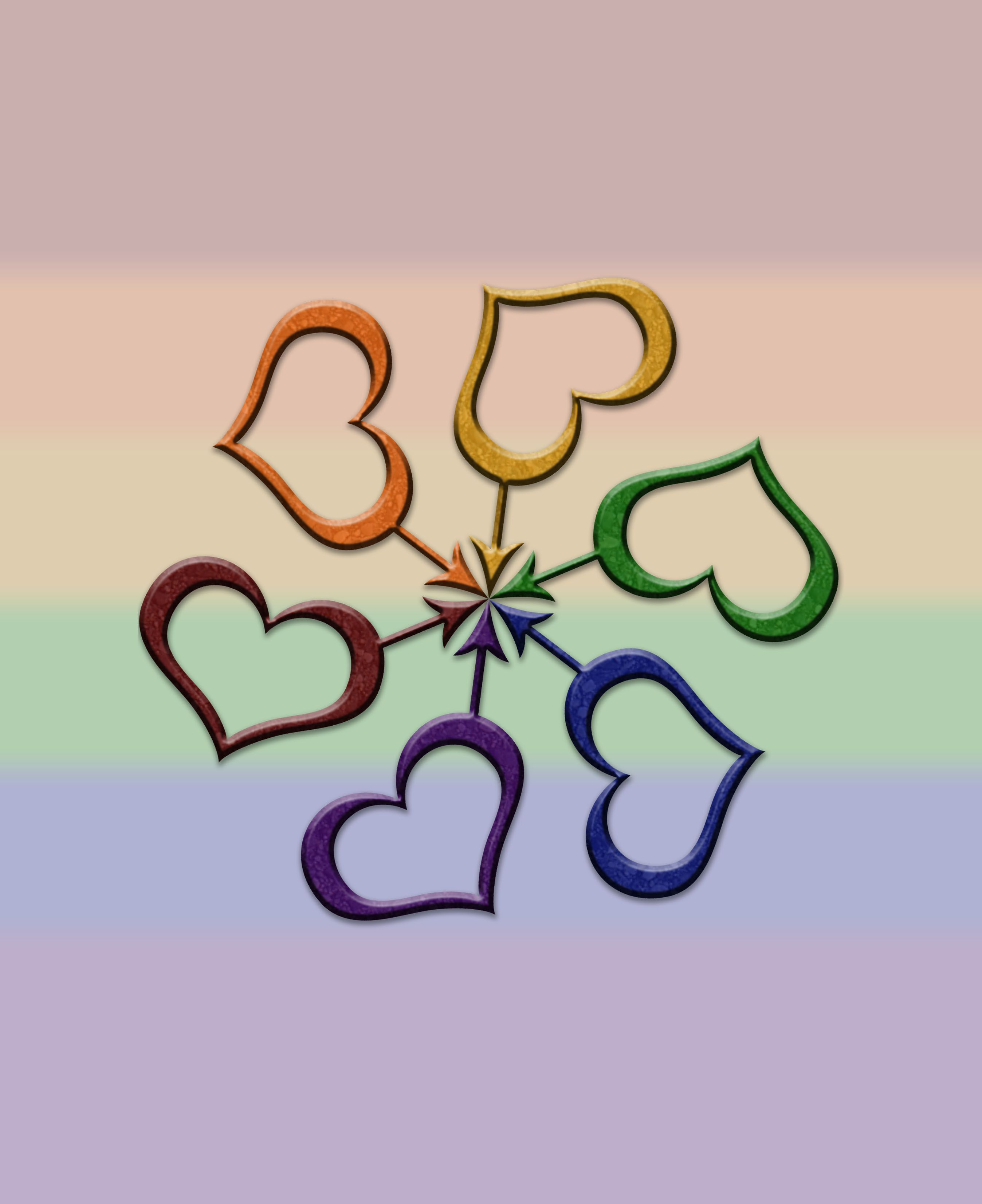 Rainbow Colored Male Gender Symbol Spiral. Gay Pride Design. 	Click to view Merchandise Available on Zazzle.	  For Free Personalization please contact me at - love.life.3984@gmail.com