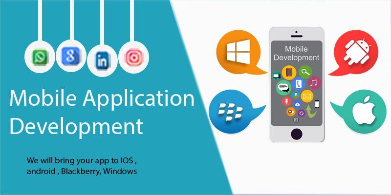 Mobile Application development Banner Mobile application
