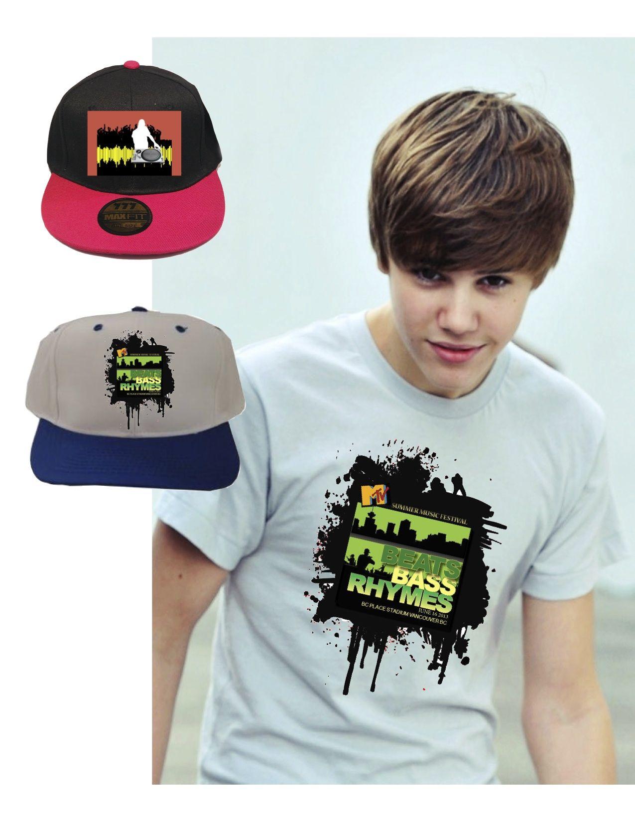 Design t shirt rollerblade - Mtv Summer Music Festival Tshirt Design