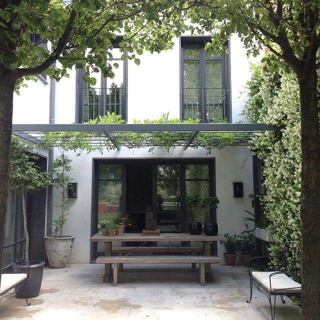 10 terrasses ombrag es pour s inspirer belle arri re cours et terrasse. Black Bedroom Furniture Sets. Home Design Ideas