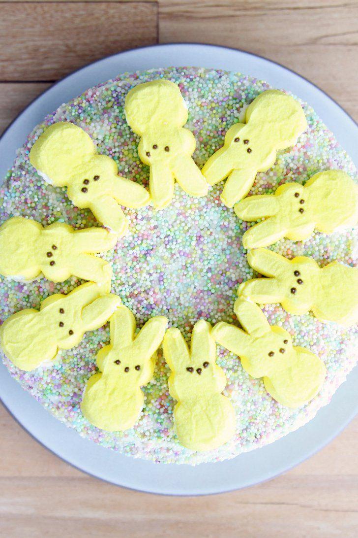How to Make a Pinterest-Worthy Peeps Cake
