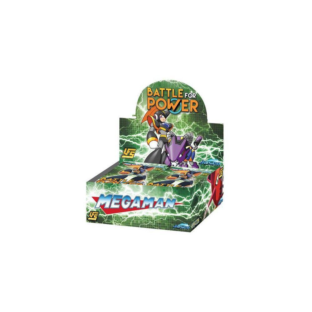 Ufs Mega Man Battle For Power Booster Box 24 Packs In 2019