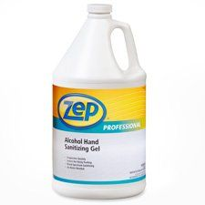 Zper10924 Hand Sanitizing Gel 1 Gallon By Zep Inc 12 00 No