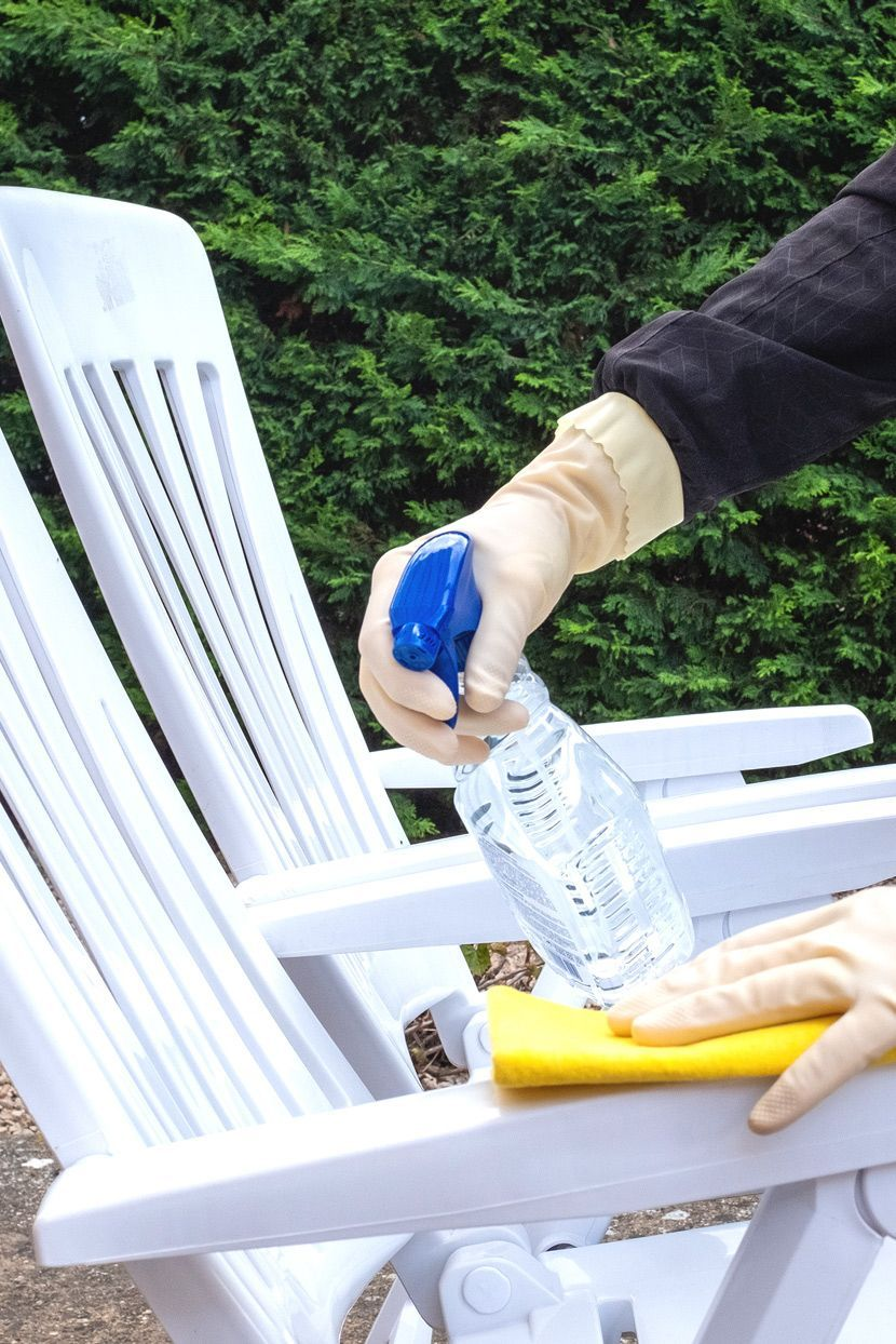How to Clean Mold Off Every Type of Outdoor Furniture in