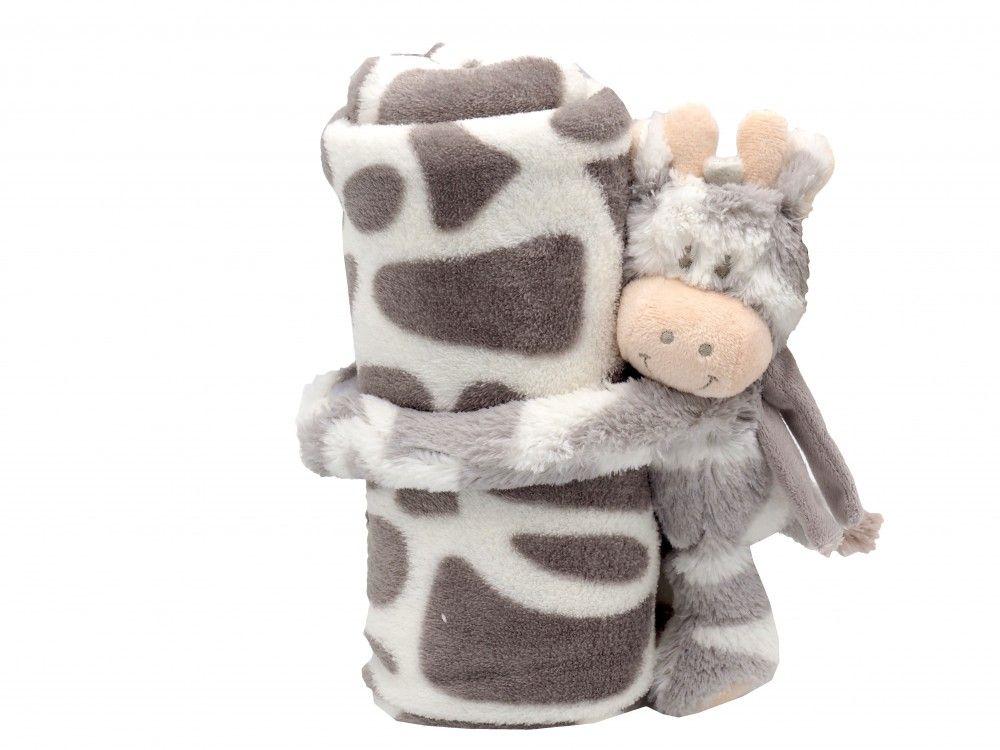 Baby Kinder Schmusedecke Kuscheldecke Decke Kuscheltier Stofftier