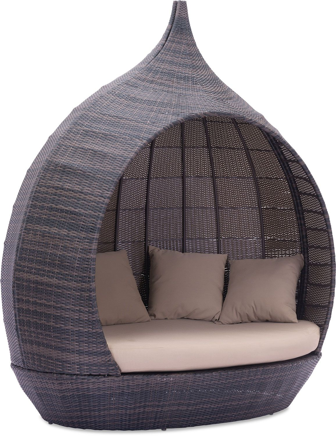 Outdoor furniture renly outdoor daybed brown spring u patio