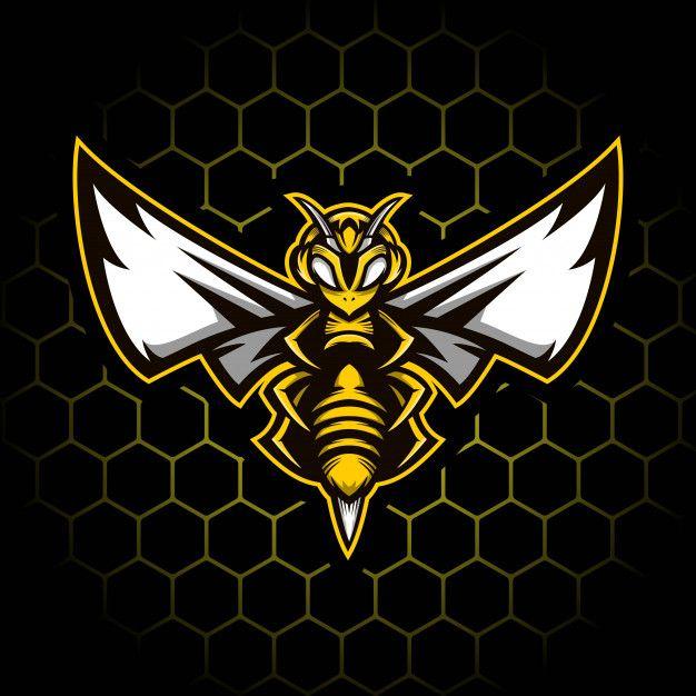 Bee Mascot Illustration
