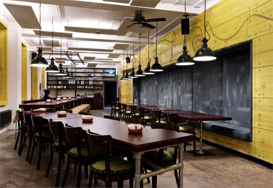 The Superbude 2 Hotel Revives The City S Industrial Flair With Its Design House Restaurant Hotel Interiors Restaurant Design