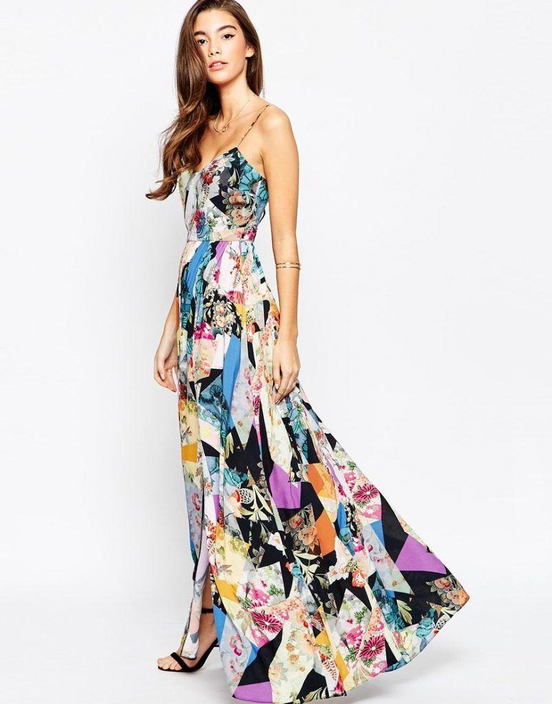 Elegant Floral Maxi Kleider Inspiration für Ihre Party, Kleid
