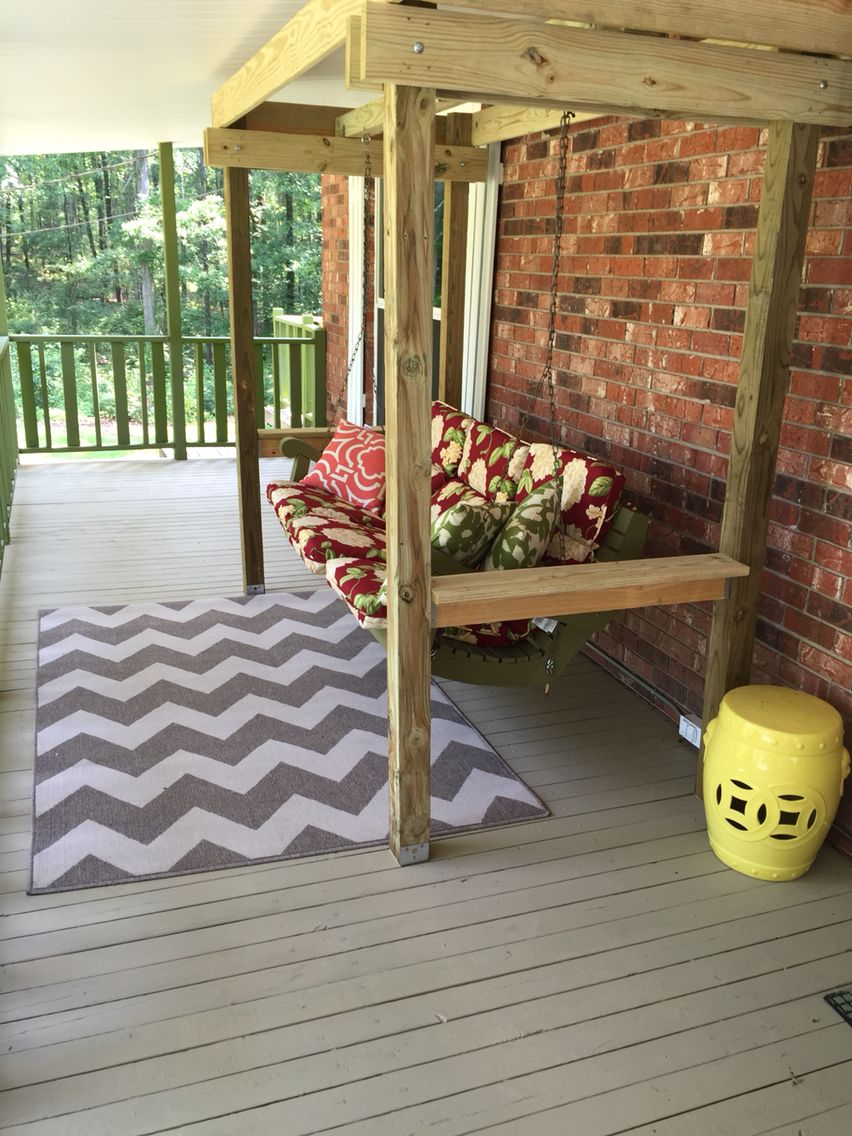 I Painted The Floor With Deck Correct From Ace Hardware The Color