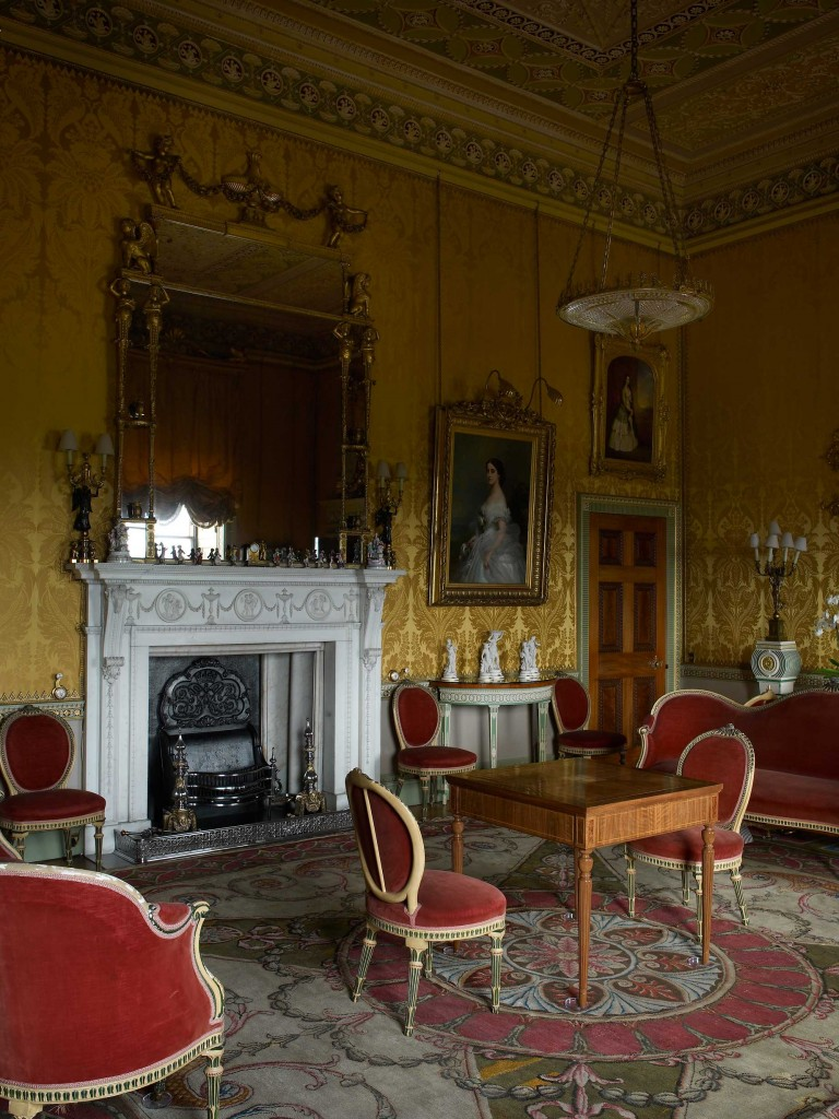 Yellow Drawing Room In 2020