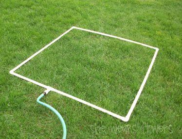DIY soft hazy sprinkler - Great for kids or even to create a mist tent & DIY soft hazy sprinkler - Great for kids or even to create a mist ...