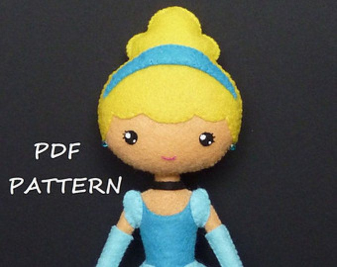 PDF pattern to make a doll inspired in Moana Vaiana | dolls | Pinterest