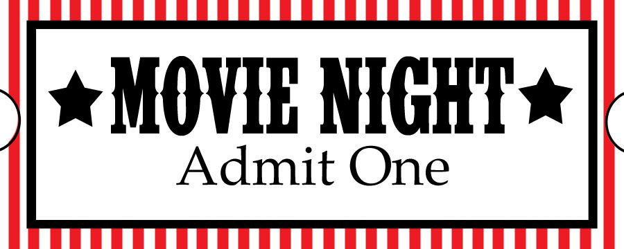 Movie Night Ticket Clipart TICKETS, BORDING PASS, COUPONS - movie ticket template for word