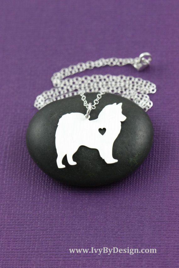 SALE  American Eskimo Dog Necklace  American Eskimo by IvyByDesign