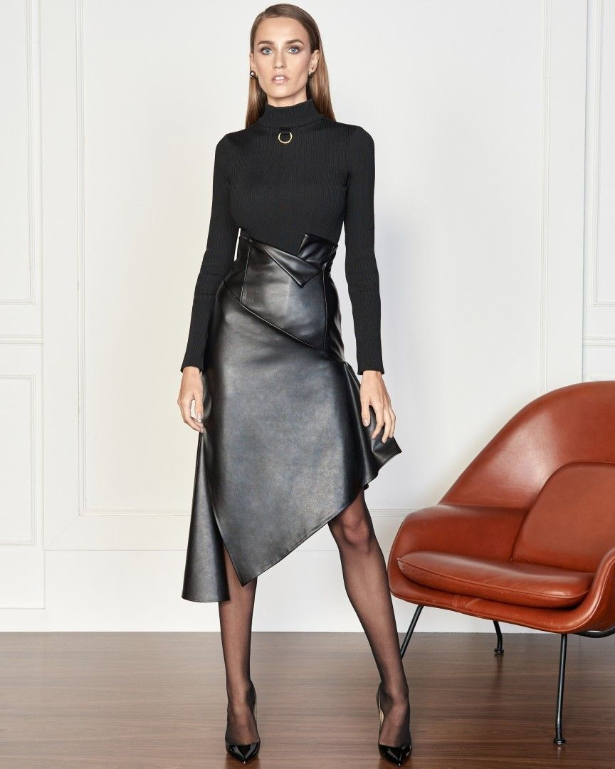 f7b8ad90b757 What to wear this weekend i amazing leather skirt | Leather skirts ...