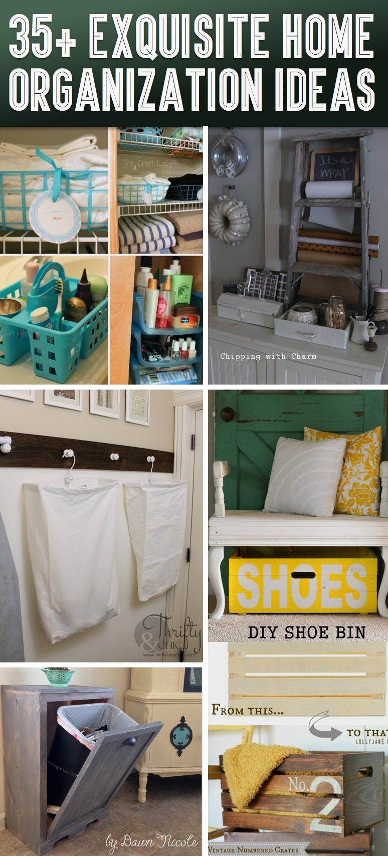 35+ Exquisite Home Organization Ideas To Get Rid of All That Clutter on ideas to organize home, ideas to organize magazines, ideas to organize watches, ideas to organize pantry, ideas to organize books, ideas to organize living room, ideas to organize garage, ideas to organize jewelry, ideas to organize bedroom, ideas to organize toys, ideas to organize toilet,