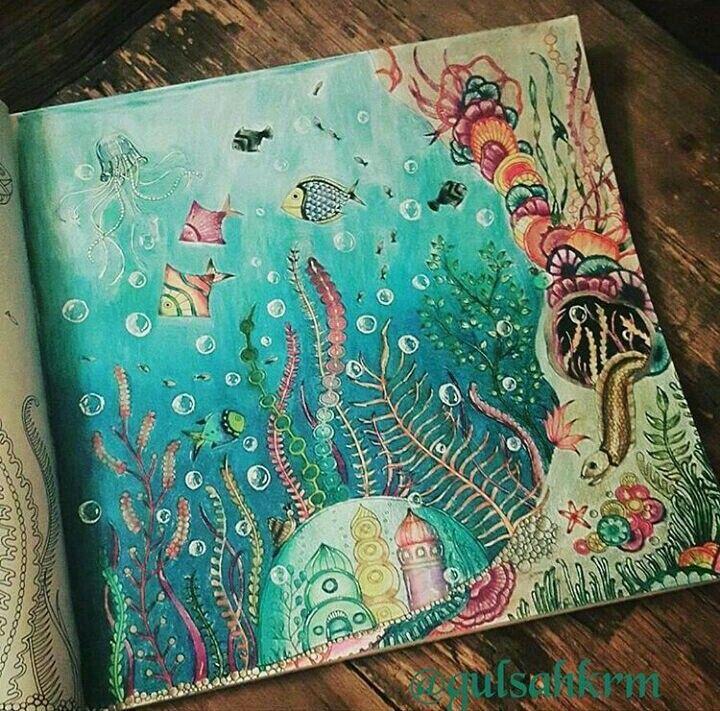 Oceano Fondo Del Mar Dibujo El Oceano Perdido Dibujo Del Oceano