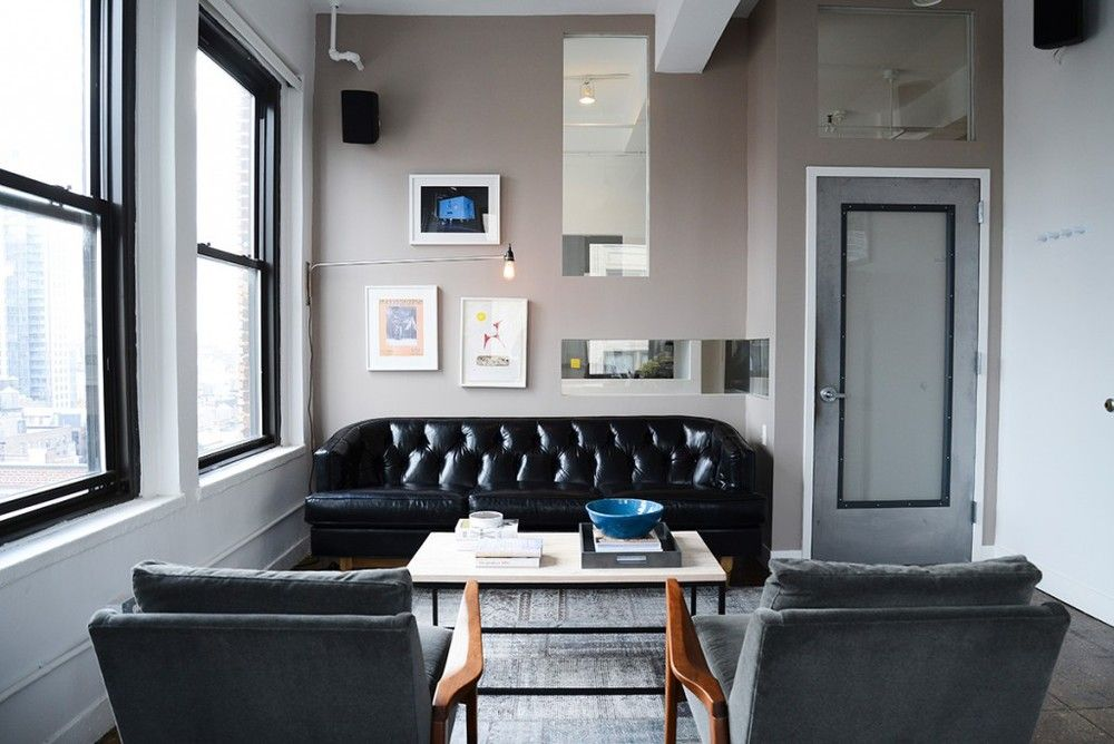A Bachelor Pad Hits the Refresh Button Interiors, Small lounge