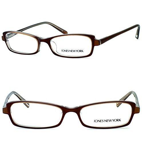 d39e0f96a50 Jones New York Womens Lightweight   Comfortable Designer Reading Glasses  J725 in Brown 1.50