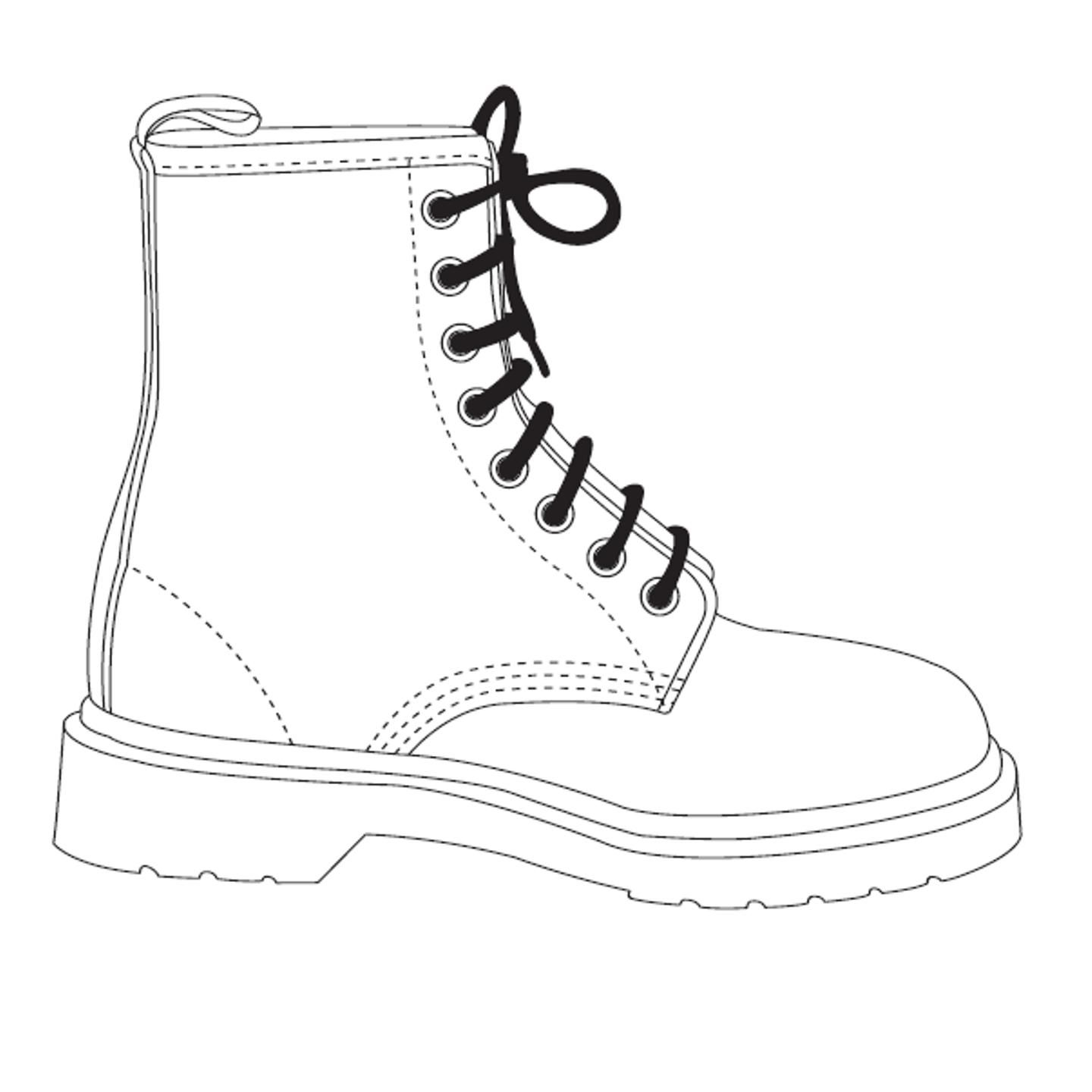 Image for the resource: Doc Marten Template | Templates for Cards ...