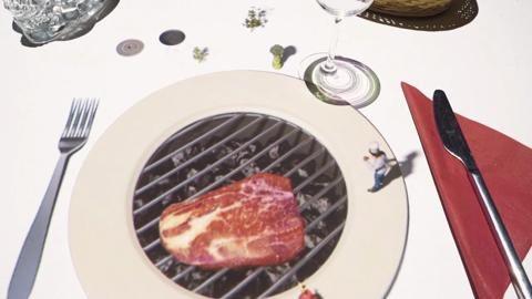 Belgique : l'étonnante expérience vidéo d'un restaurant ...