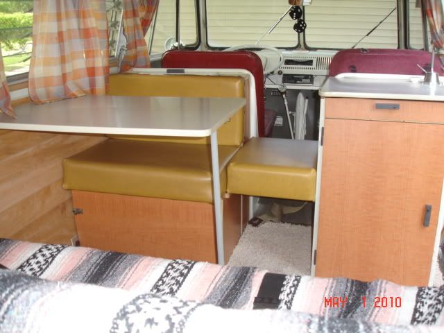 Outstanding Vw Camper Rear Facing Bench Seat Camper Interior Van Dailytribune Chair Design For Home Dailytribuneorg