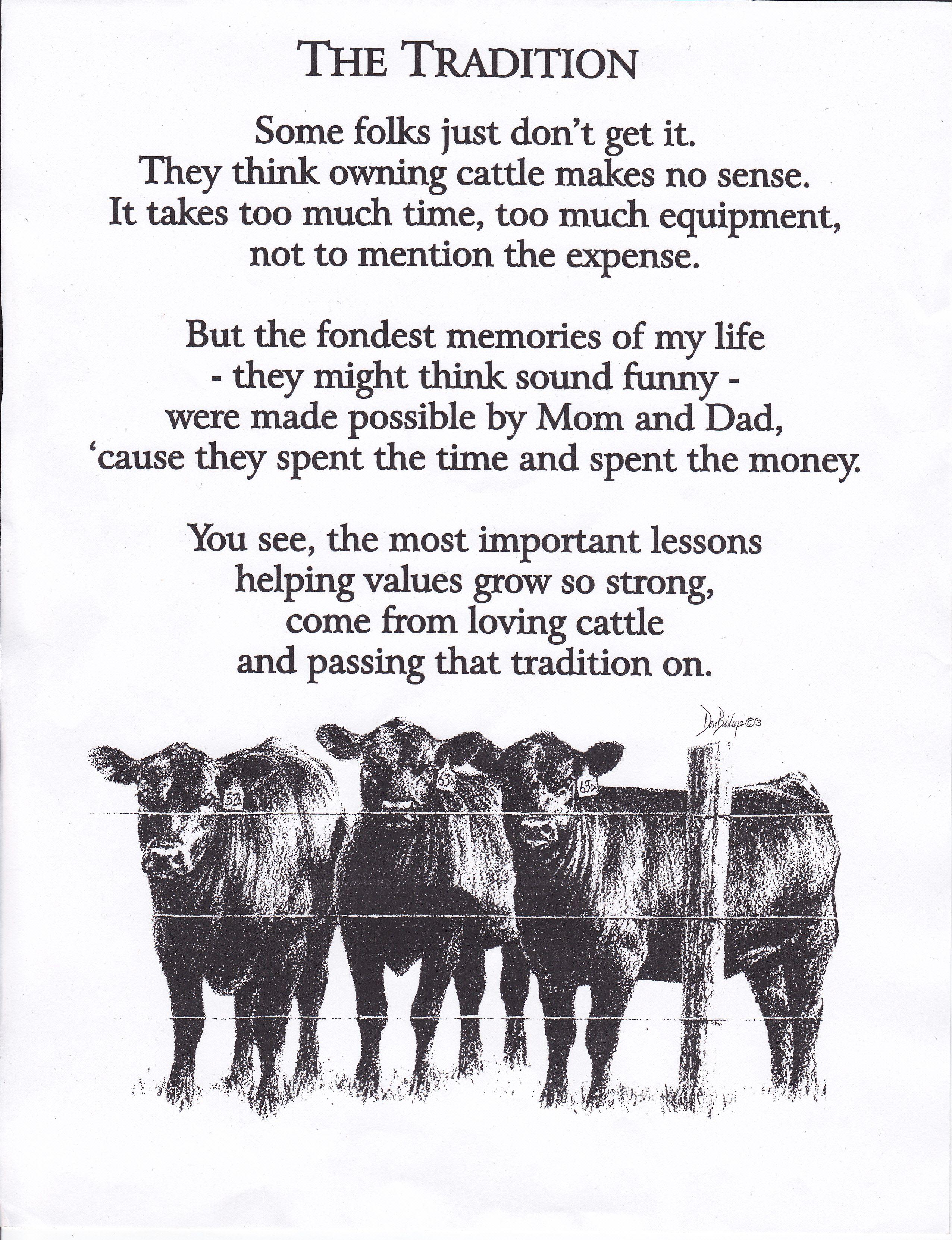 An Old Farmers Advice Poem - Farmers