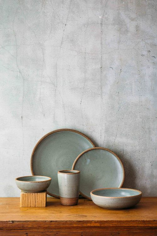 East Fork Pottery Dinner Set 5 Piece Includes Tumbler Side Plate Dinner Plate Shallow Breakfast Bowl Shallow Soup or Salad Bowl St&ed East Fork ... & EF-CAT--76.jpg   Cutlery plate bowl   Pinterest   Pottery Pottery ...