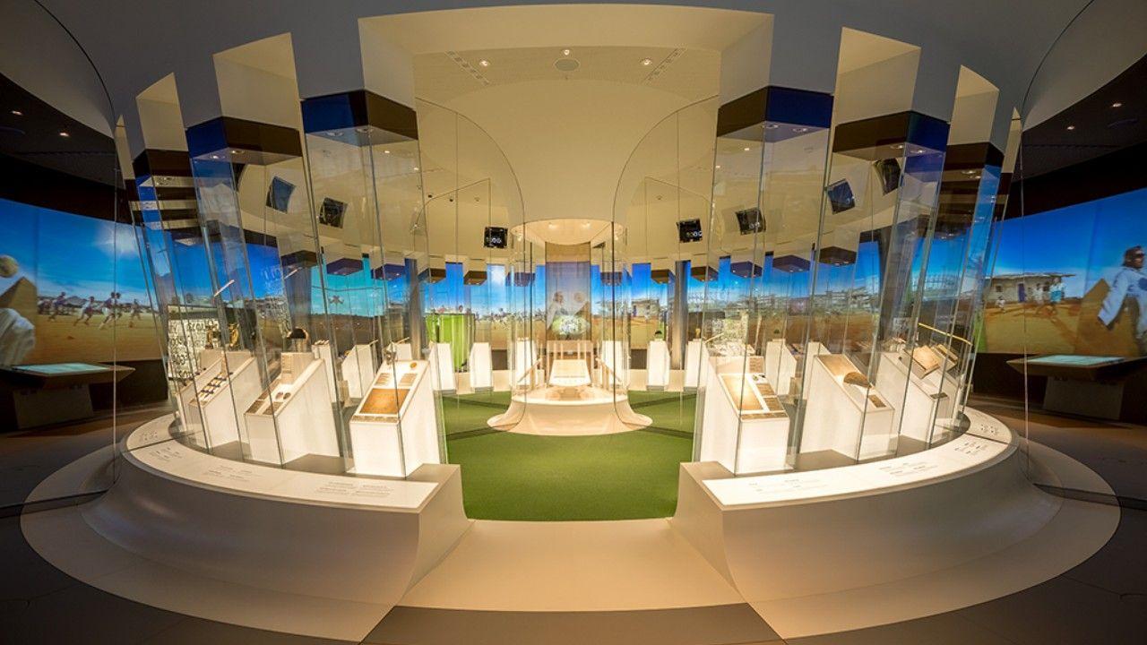 Projekte Fifa World Football Museum Interactive Display Berlin Fifa